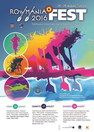 RowmaniaFEST – festivalul internațional al tulcenilor