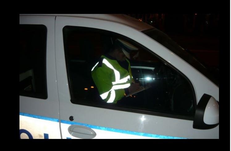 Depistată în trafic cu numere de înmatriculare expirate