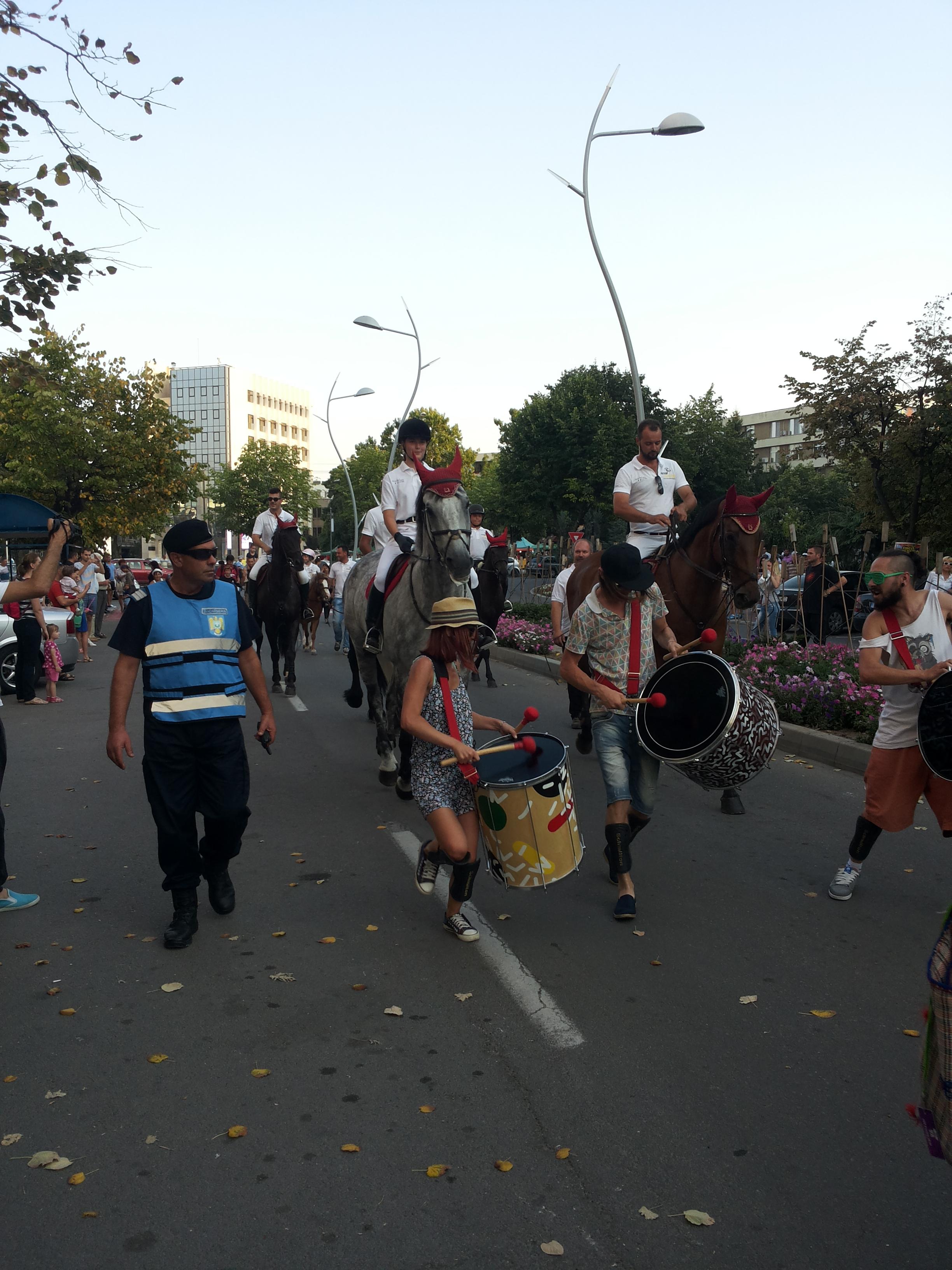 Măsuri specifice adoptate de jandarmi la manifestarea cultural – artistică şi sportivă  FESTIVALUL INTERNAŢIONAL AL BĂRCILOR CU VÂSLE
