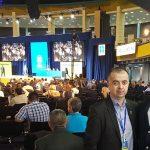 Presedintele Ilie si deputatul George Şişcu
