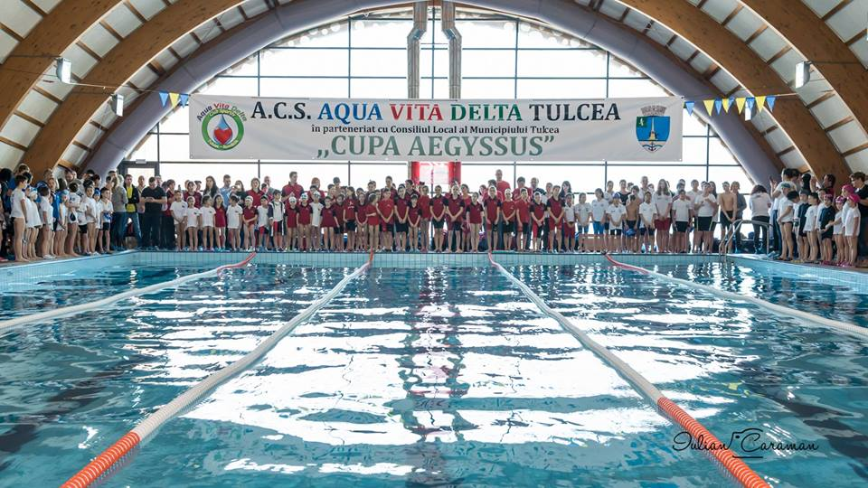 "Ediția a V- a a concursului de înot"" Cupa Delfin – Aegyssus"""