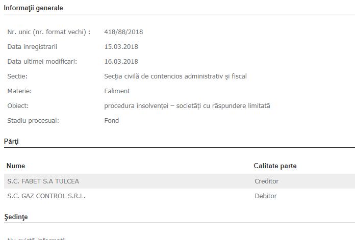 """SE CERE INSOLVENȚA FIRMEI """"DE CASĂ """"A PRIMĂRIEI, GAZ CONTROL!"""