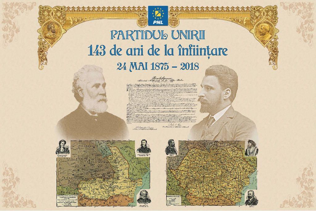 Aniversare: Partidul Național Liberal, partidul Unirii care a făcut România Mare și modernă
