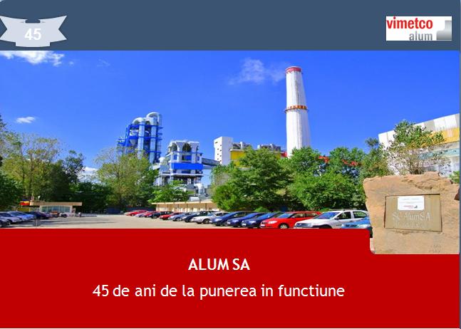 Aniversare la Alum Tulcea: 45 de ani de la punerea în funcțiune a uzinei