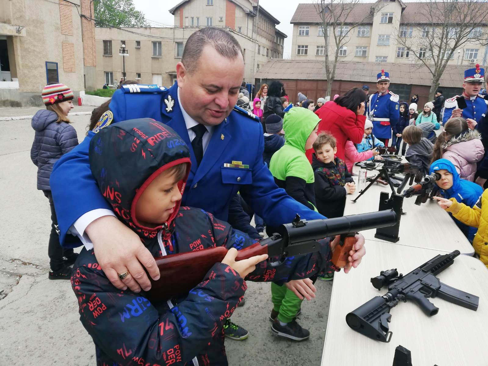 """,,Şcoala Altfel"""" la Inspectoratul de Jandarmi Judeţean Tulcea"""