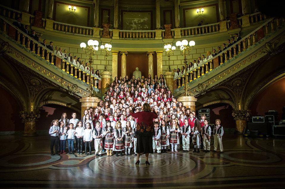 Preșcolarii Grădiniței cu Program Prelungit Nr.3 Tulcea prezenți la Concertul Extraordinar de Crăciun  organizat la Ateneul Român București