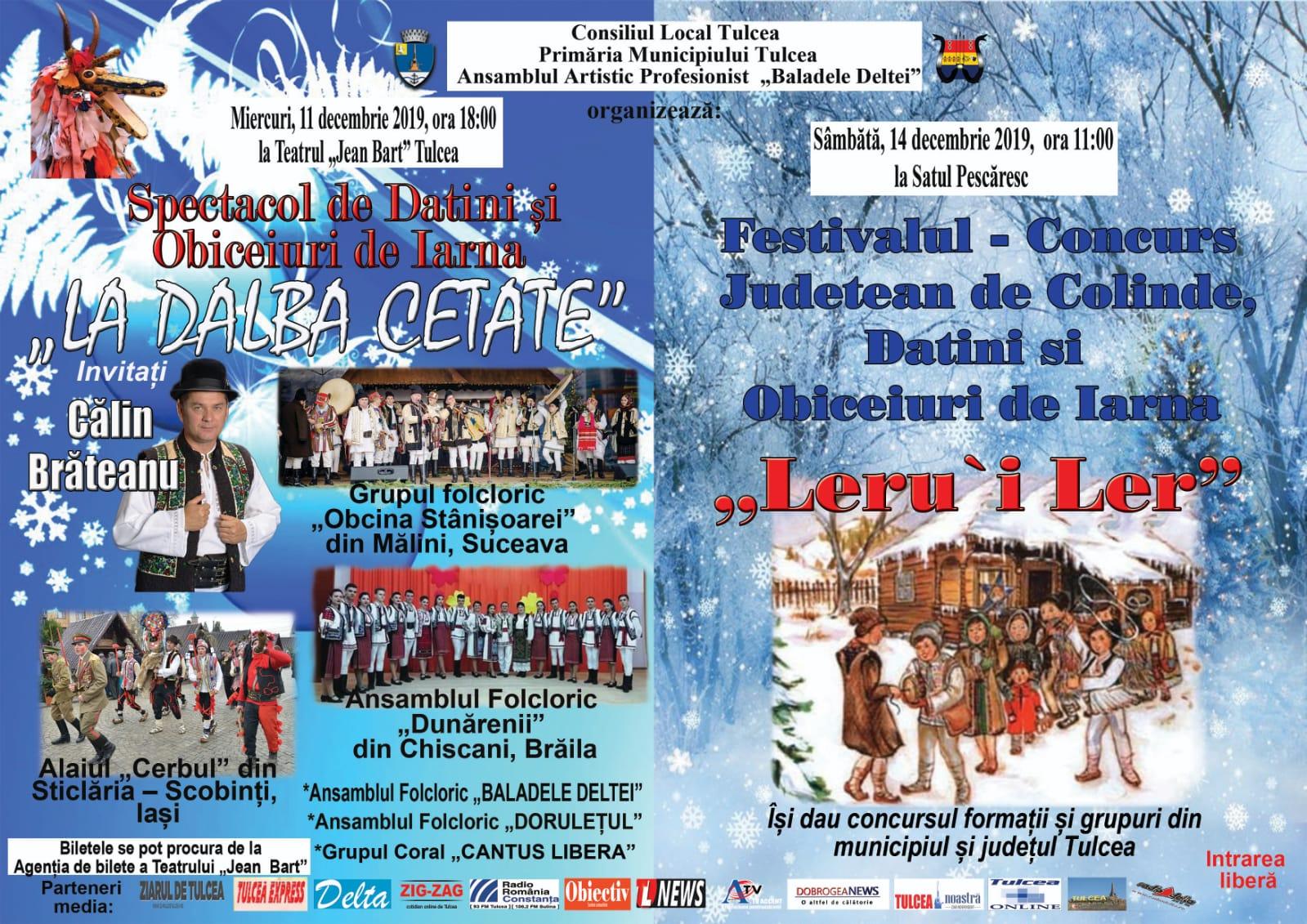 """Festivalul """"Leru'i ler"""" la Satul Pescăresc"""