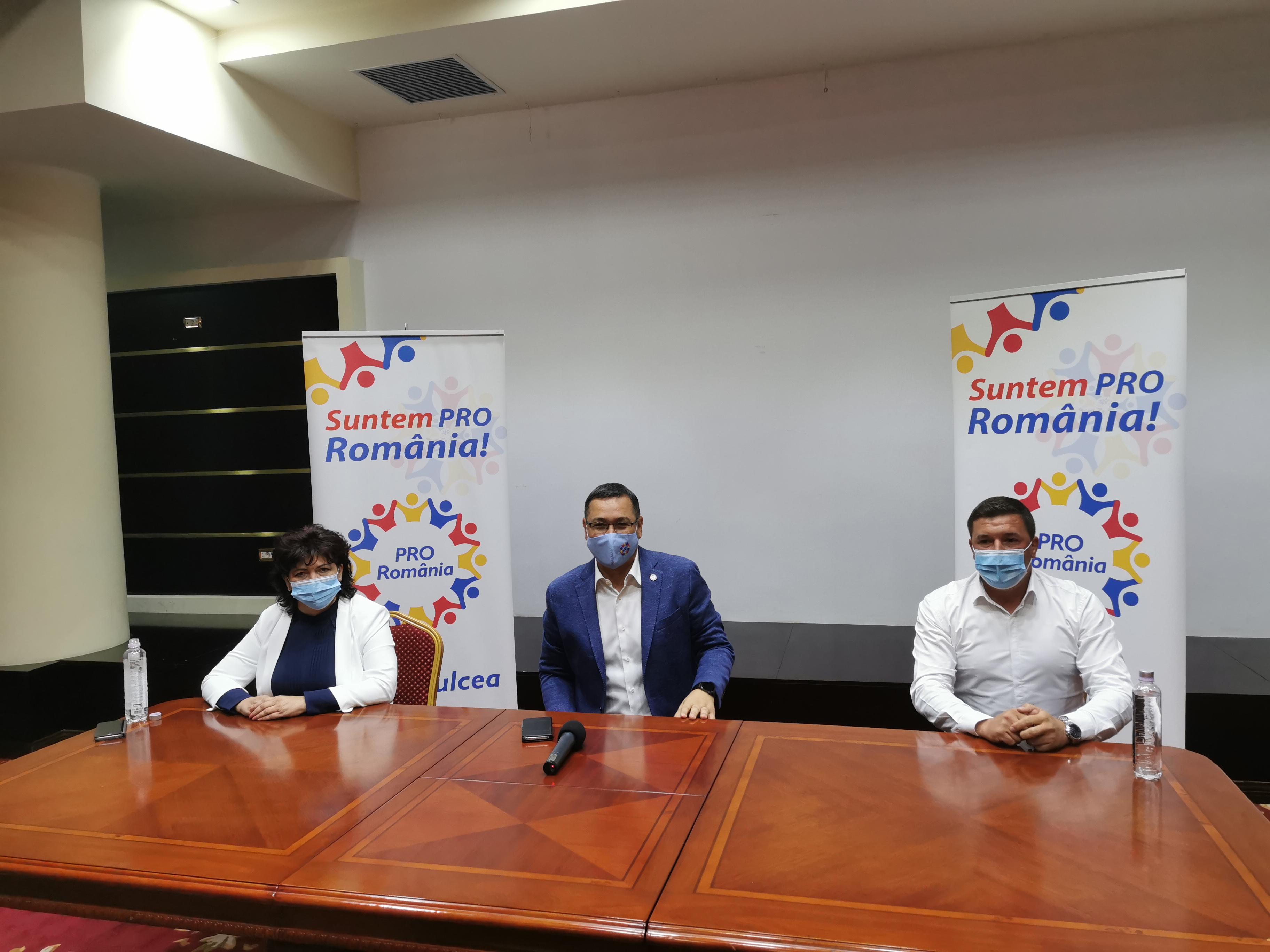 Ponta anunță că Pro România Tulcea susține o alianță post electorala cu PSD