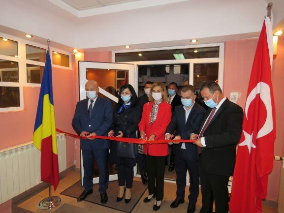 Cu ocazia deschiderii Consulatului General Onorific al Republicii Turcia la Tulcea, Excelența Sa Doamna Ambasador  Füsun Aramaz, în vizită oficială în municipiu