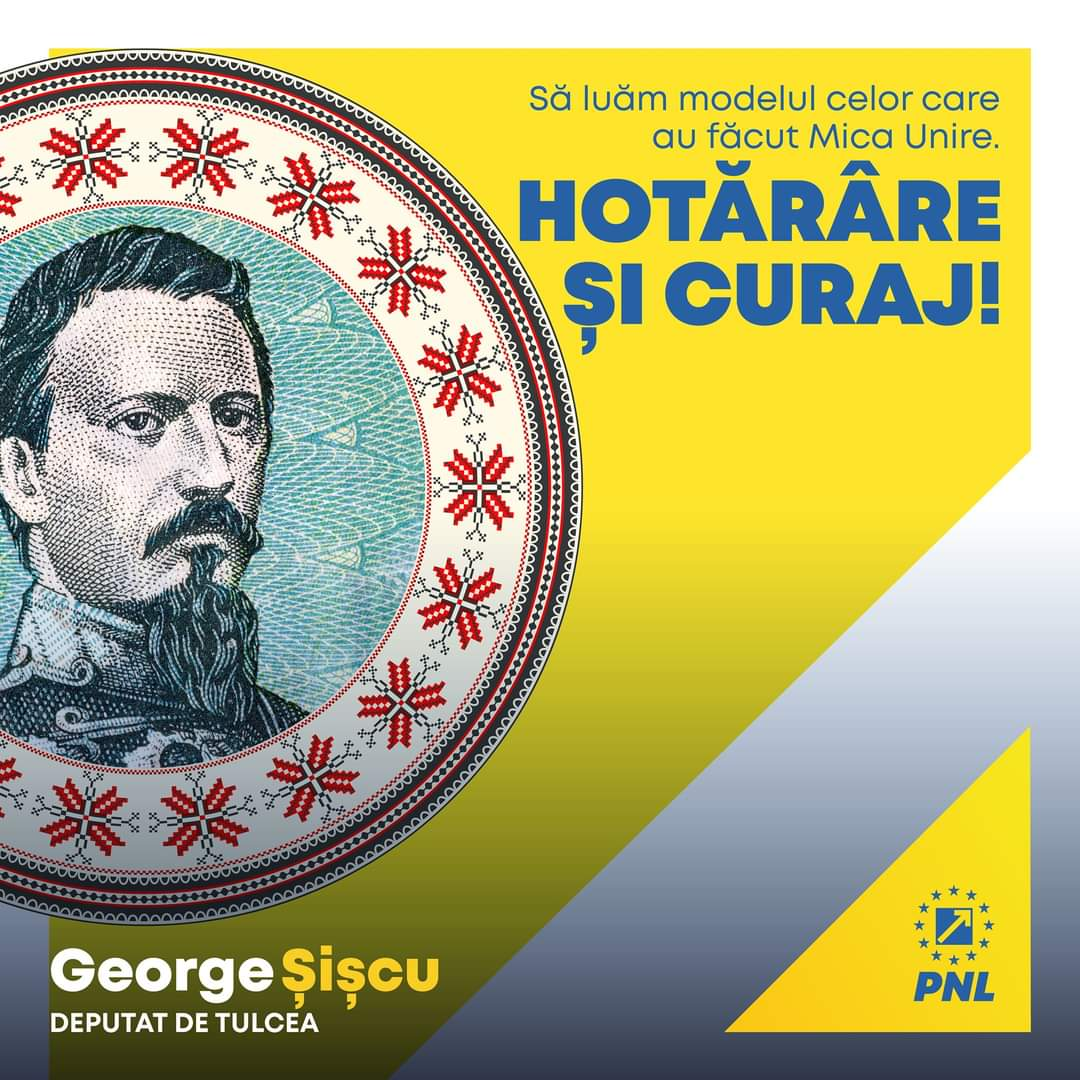 """Deputatul George Șișcu: """"La mulți ani România! """""""