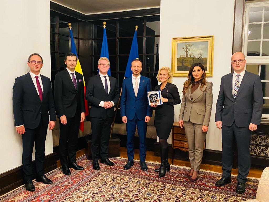 Întâlnire cu reprezentanți ai comunității românilor din Danemarca